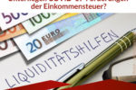 Unterliegen COVID-19-Förderungen der Einkommensteuer?